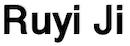 Ruyi Ji's Home Page